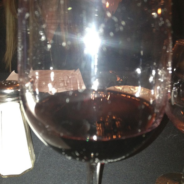 Graziano Petite Sirah 2006 @ Grey Moss Inn Restaurant