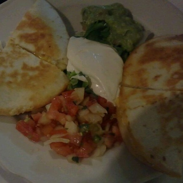 Shrimp And Crab Quesadilla @ El Mariachi