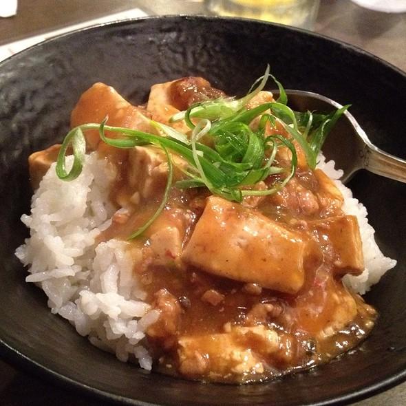 Mabo Tofu @ Ramen Yamadaya