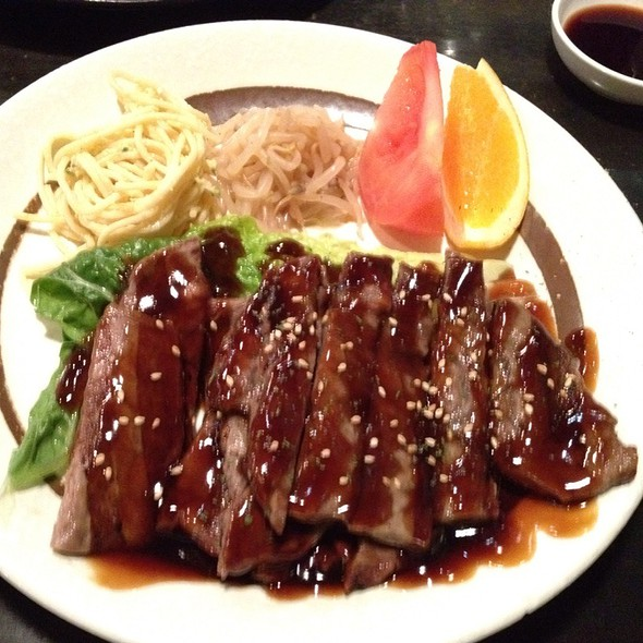 Teriyaki Steak Plate @ Tabento? Sushi & Sake