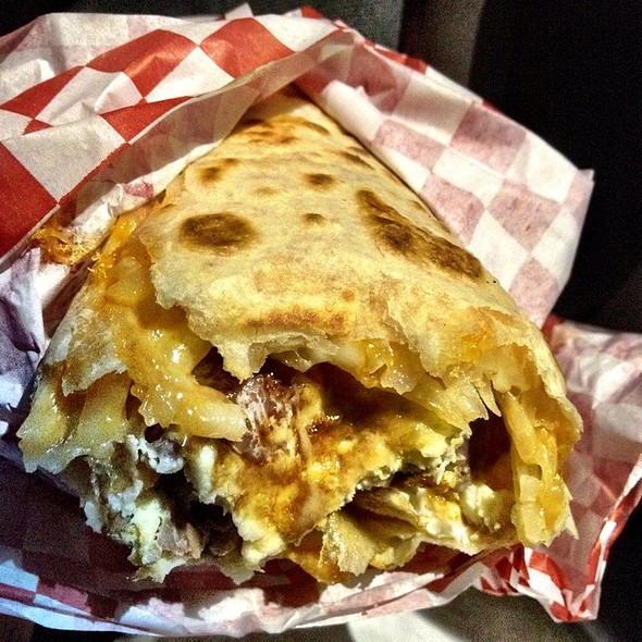 Breakfast Burrito @ Charlie's Best Burger