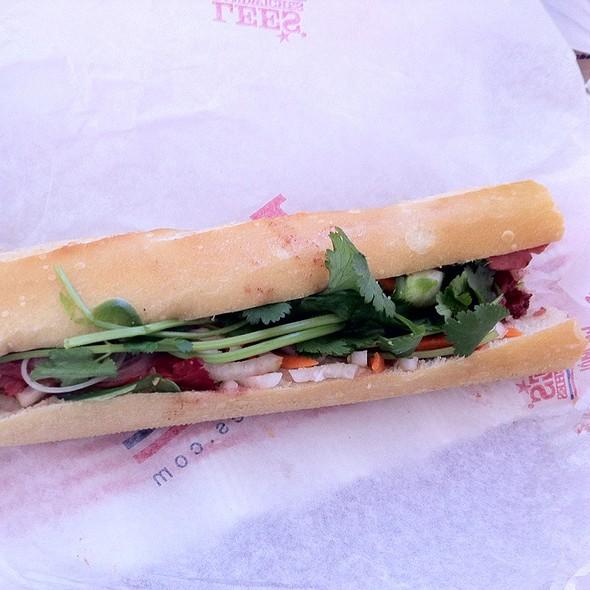 BBQ Pork Bánh Mì @ Lee's Sandwiches Larkin