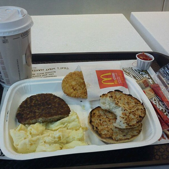 Big Breakfast @ Mcdonalds Union Street