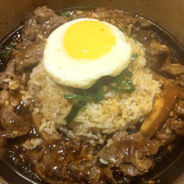 Garlic Beef N' Mushroom Brown Pepper Rice