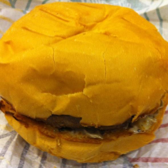 Mushroom burger @ Triple O's