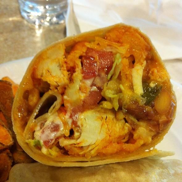 Buffalo Chicken Burrito @ The Skinny Chef Inc
