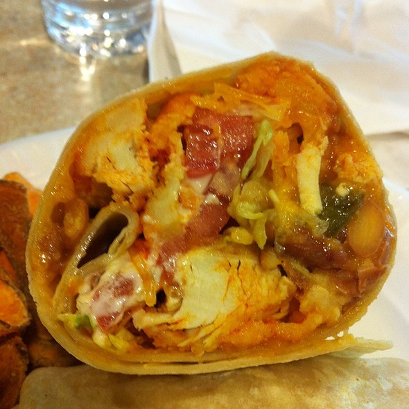 Buffalo Chicken Burrito @ The Skinny Chef Inc