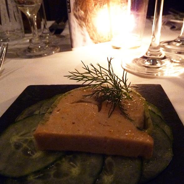 Salmon Terrine @ Hotel Miramonte