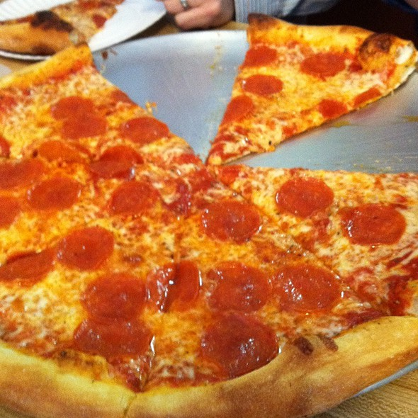 Pepperoni Pizza @ Two Guys Pizza