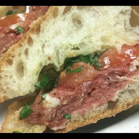 Prosciutto, Mozzarella, Tomato Sandwich @ Barbarini Alimentari