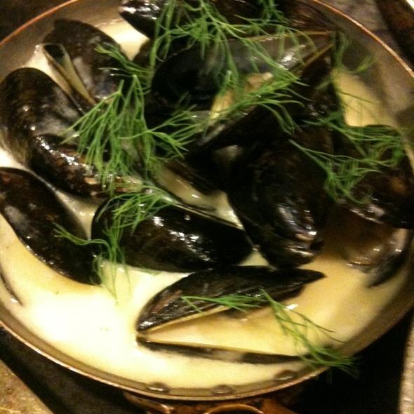 Mussels @ Rue Saint Jacques Restaurant