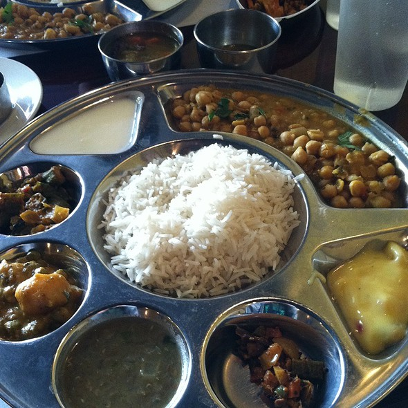 Vegetarian Thali @ Chutney Indian Restaurant