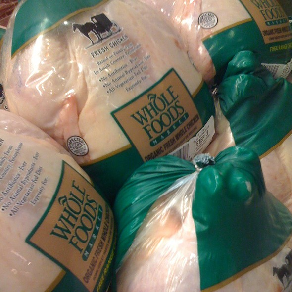 Whole Chicken @ Whole Foods Market - Green Hills