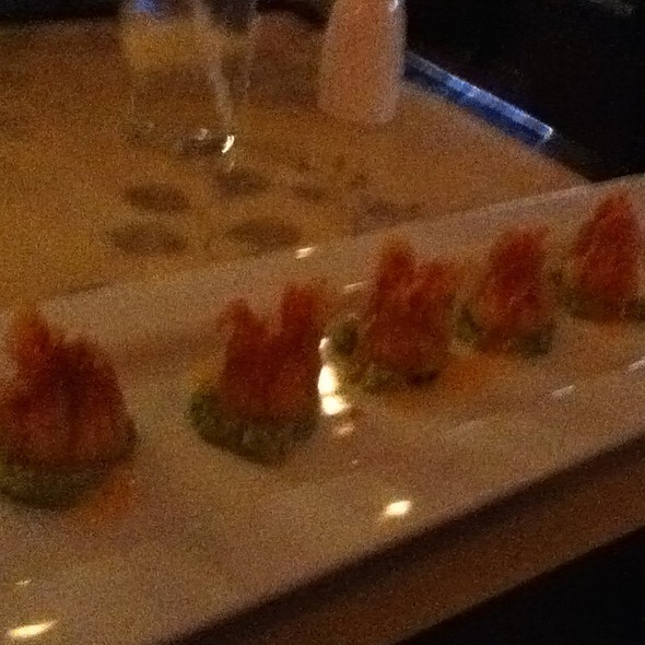 Spicy Tuna Gyoza @ Harusame