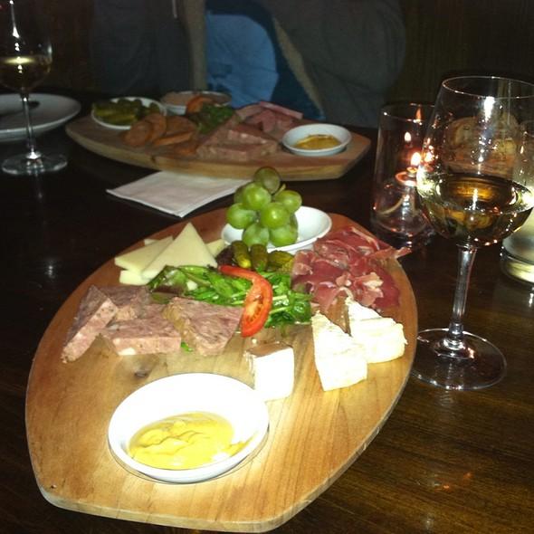 cheese & charcuterie plate @ Jadis Restaurant