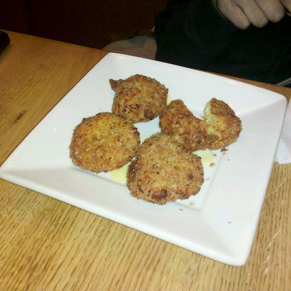 nice California Pizza Kitchen Cherry Hill #9: Fried Macaroni u0026amp; Cheese at California Pizza Kitchen