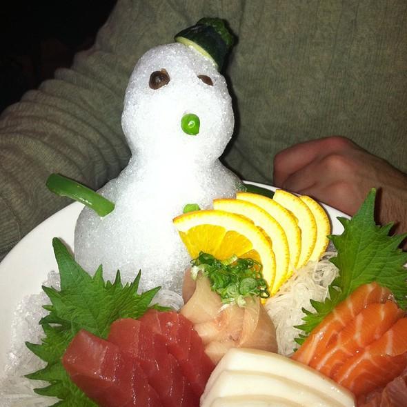 Sashimi Platter @ Yummy Sushi
