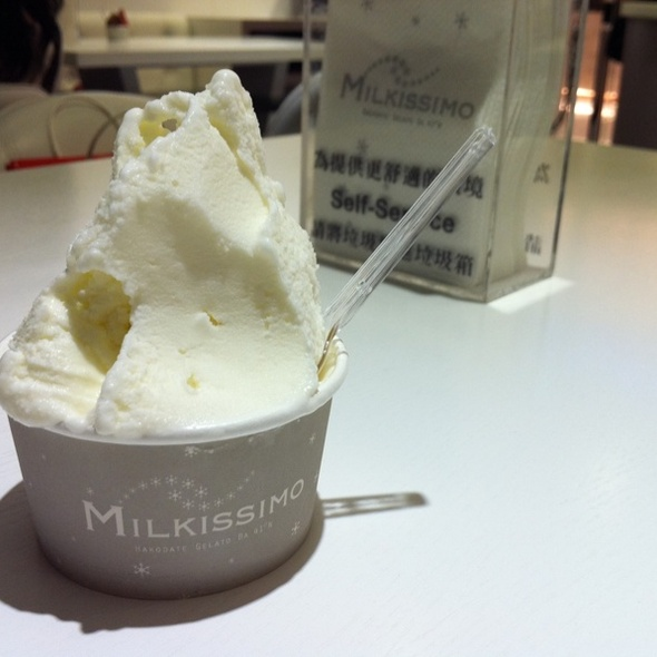 White Chocolate & Honey Yogurt @ Milkissimo