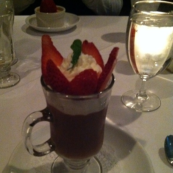 Bavarian Dark Chocolate Mousse - Splash Seafood Bar and Grill, Des Moines, IA