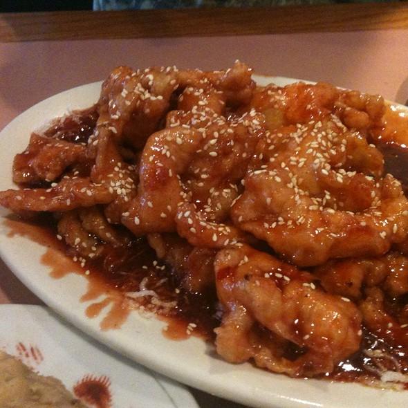 Spicy Sesame Chicken