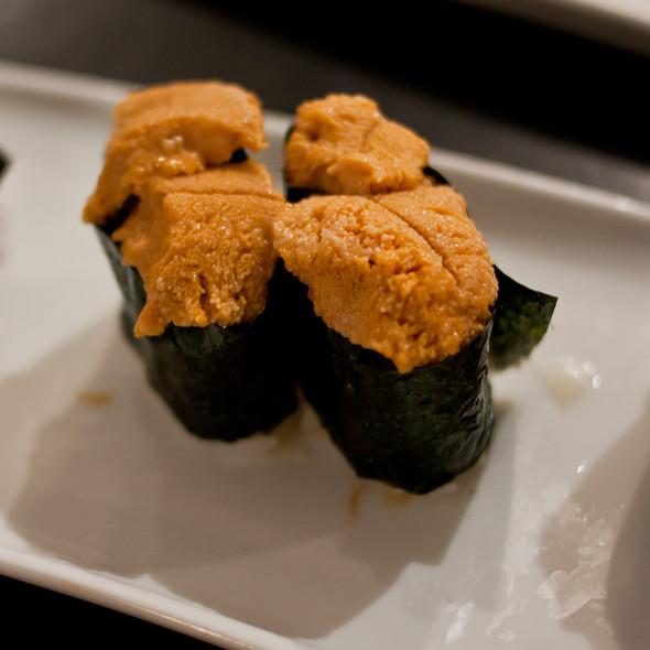 Uni Nigiri @ Wayo Sushi Restaurant