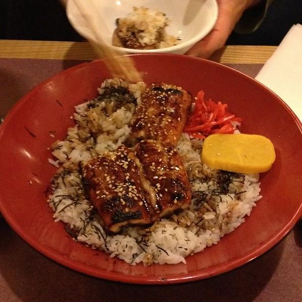 Unagi Don @ Masa's Sushi