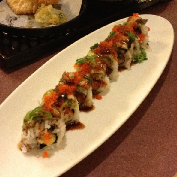 Spicy Jack Roll @ Masa's Sushi