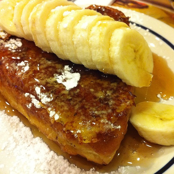Banana Stuffed French Toast @ Ihop