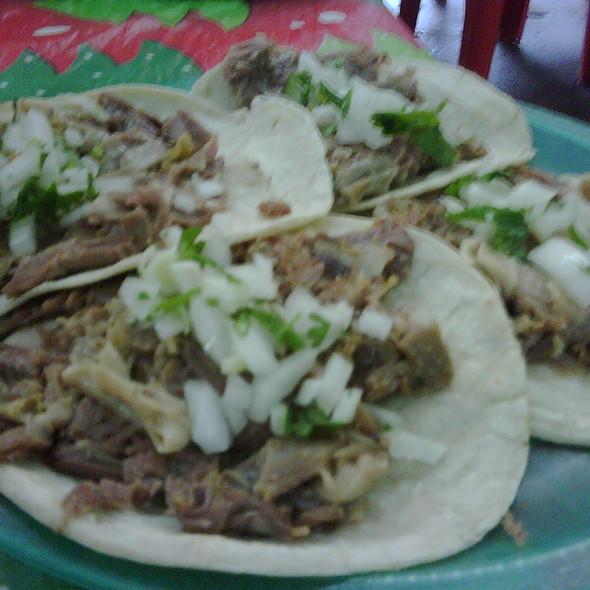 Tacos de Borrego @ Villa las Palmas