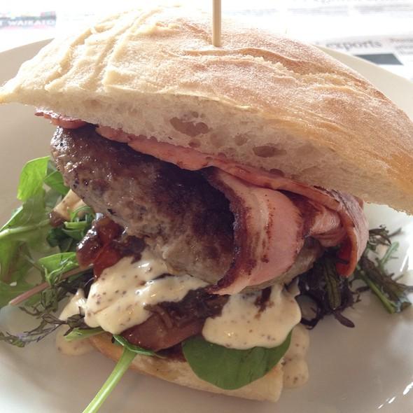 Beef Burger @ The Firepot Cafe