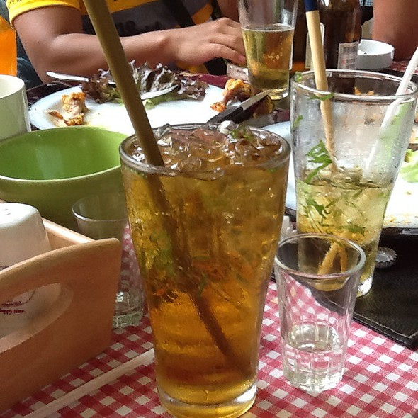 Iced Peppermint Tea @ Tempi Felici @ Palio Khao Yai