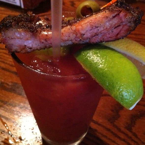 Bloody Mary With a Rip @ Buck's Naked BBQ