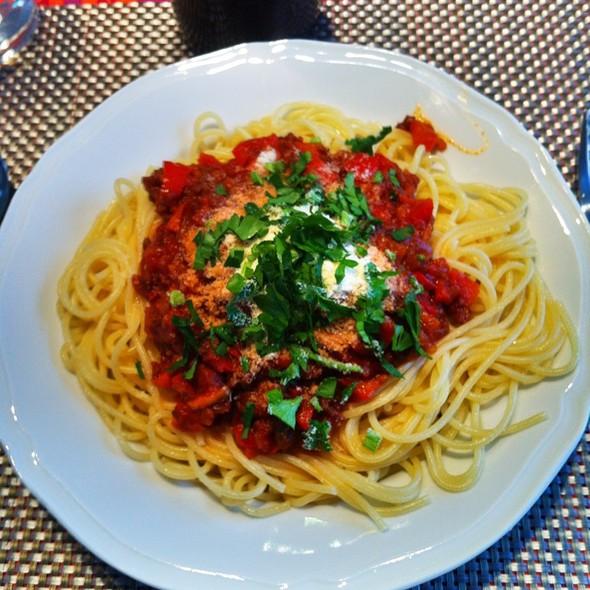 Spaghetti Napoletana @ Ouders