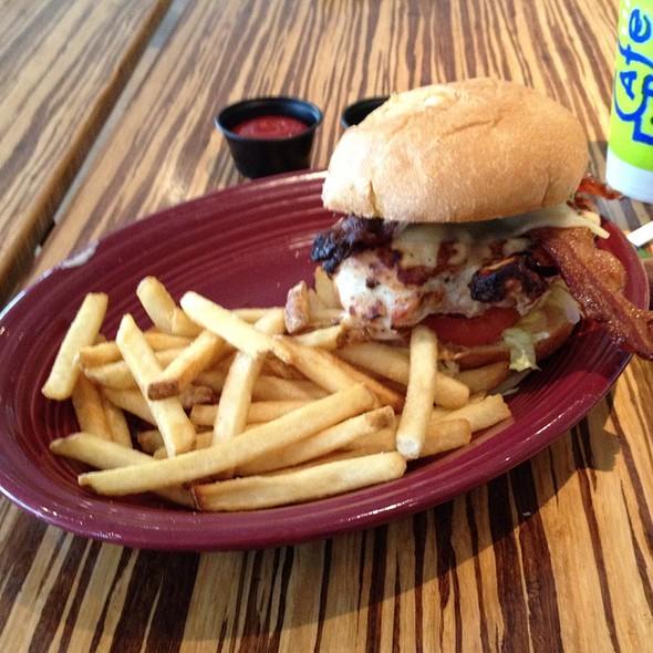 Grilled Chicken Sandwich @ Cafe Express