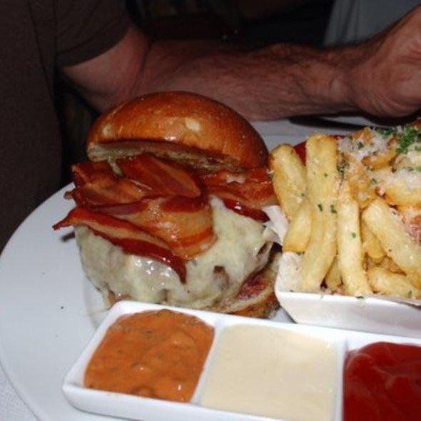Bix Club burger @ Bix