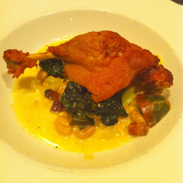Crispy Leg Of Duck Confit