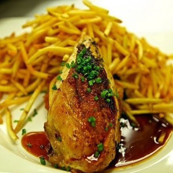 Chicken And Frites - Michael's, New York, NY