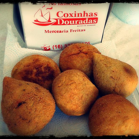 Coxinhas @ Coxinhas Douradas de Bueno de Andrada