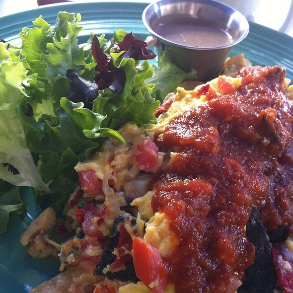 migas - Front Porch Cafe, Miami Beach, FL