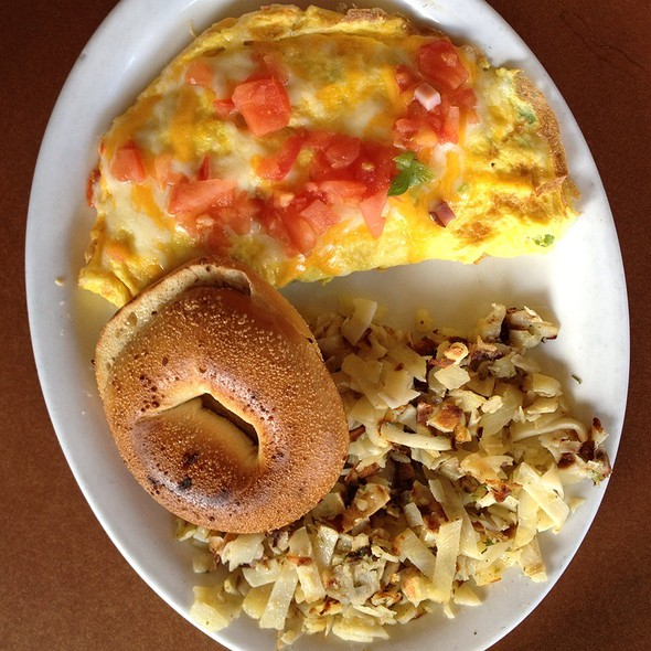 West Omlette With Tomatos @ Stacks