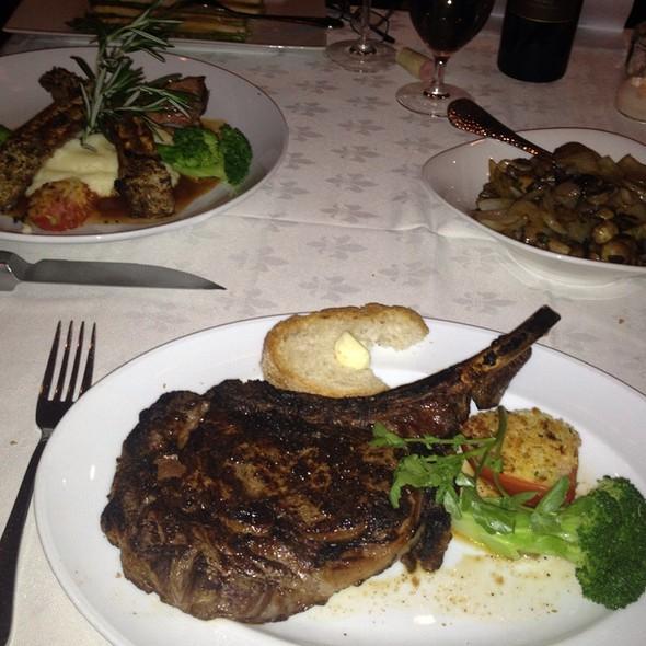 The Ultimate Cowboy Steak - Rare, the Steak House, Little Falls, NJ
