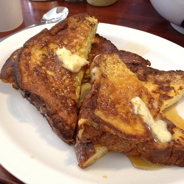 Challah French Toast @ Wise Sons Jewish Delicatessen