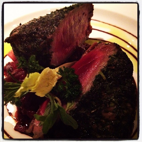 Tuna Steak @ Emporio Armani Ristorante