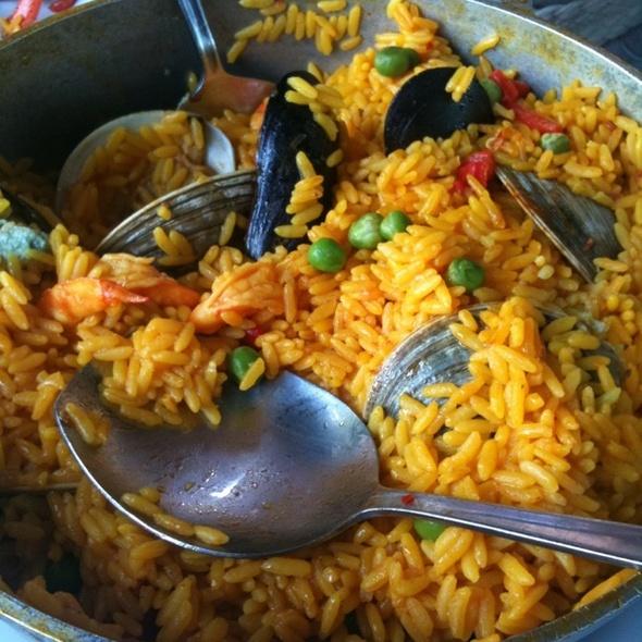Seafood Paella - Valenca, Easton, PA
