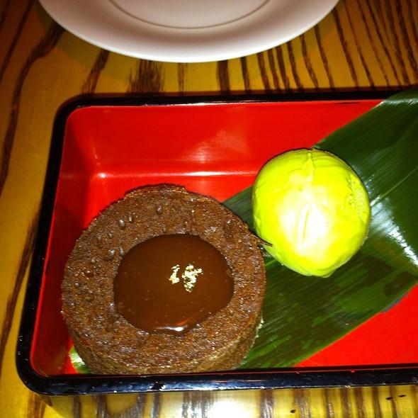 Chocolate Bento Box with Green Tea Ice Cream @ Nobu Melbourne Crown Casino