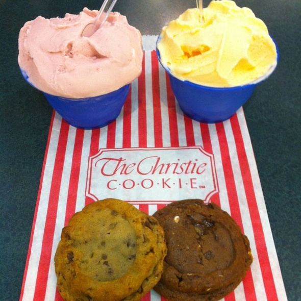 Cookie and Gelato @ Christie Cookies