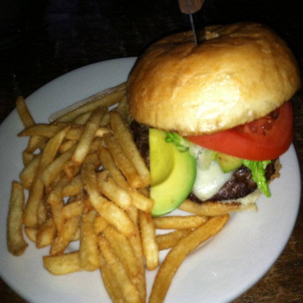 California Burger - The Grill Room at The Kirby House, Grand Haven, MI