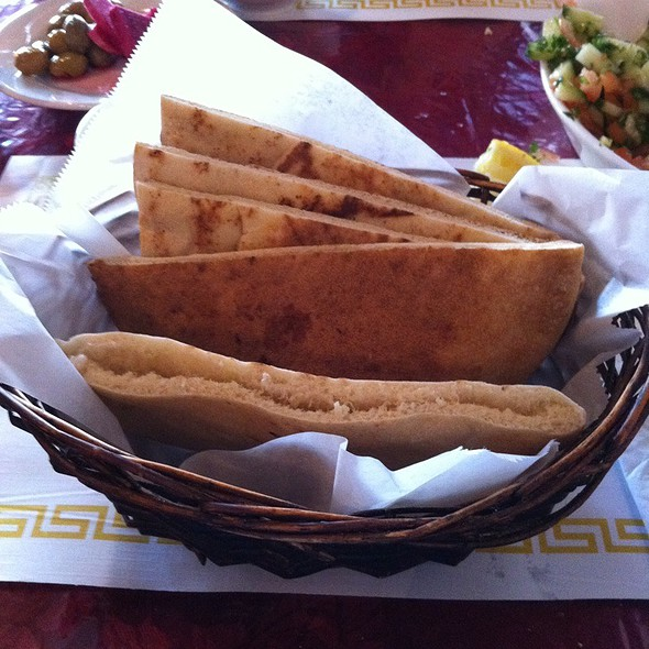 Pita Bread @ Old Jerusalem