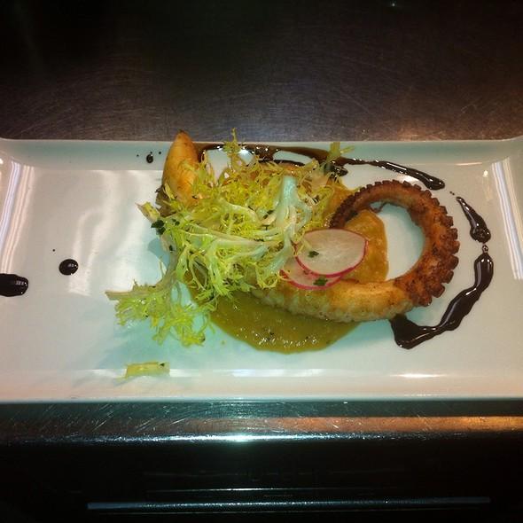 Grilled Octopus - Bacco Ristorante - Michigan, Southfield, MI