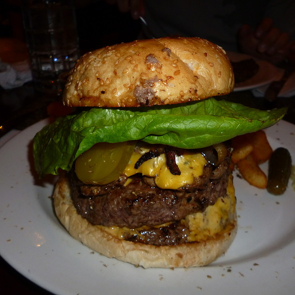 Bacon Double Cheeseburger @ Klondike Resto-Bar